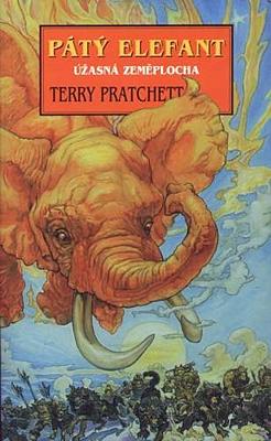 Pátý elefant (Úžasná Zeměplocha 24)