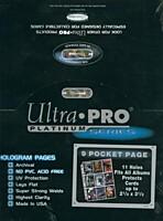 Fólie A4 - Ultra Pro Platinum Series - 100ks (83423)
