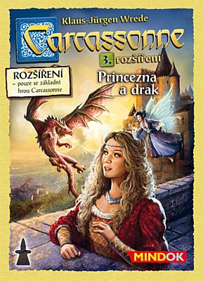 Carcassonne - 3. rozšíření: Princezna a drak