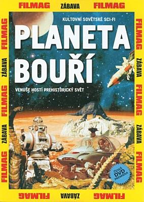 DVD - Planeta bouří