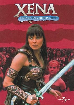 DVD - Xena: Princezna bojovnice - Disk 03 (sezóna 1, epizody 09-10)