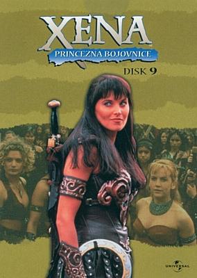 DVD - Xena: Princezna bojovnice - Disk 09 (sezóna 1, epizody 21-22)
