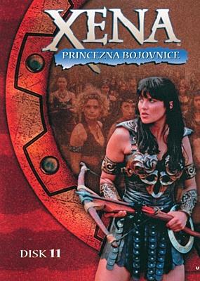 DVD - Xena: Princezna bojovnice - Disk 11 (sezóna 2, epizody 01-02)