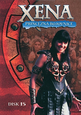 DVD - Xena: Princezna bojovnice - Disk 15 (sezóna 2, epizody 09-10)