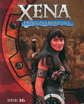 DVD - Xena: Princezna bojovnice - Disk 16 (sezóna 2, epizody 11-12)