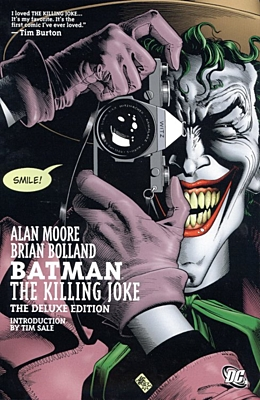 EN - Batman: The Killing Joke (hardcover, deluxe edition)
