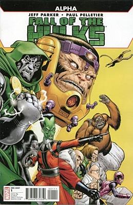 EN - Fall of the Hulks: Alpha (2009) #1A