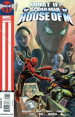 EN - What If? Spider-Man - House of M (2009) #1