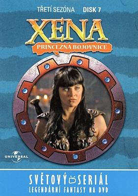 DVD - Xena: Princezna bojovnice - Disk 28 (sezóna 3, epizody 13-14)