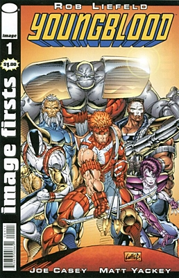 EN - Youngblood (1992 1st Series) #01 IF Reprint