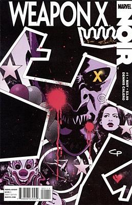 EN - Weapon X Noir (2010) #1A