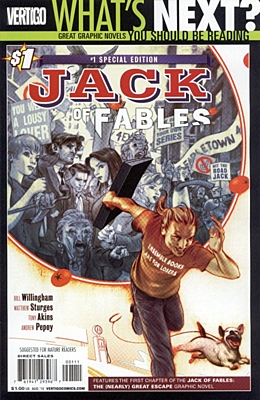 EN - Jack of Fables (2006) #01 Special Edition