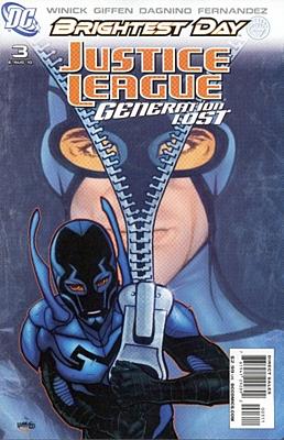EN - Justice League: Generation Lost (2010) #3A