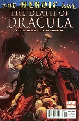 EN - Death of Dracula (2010) #1A