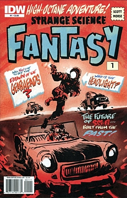 EN - Strange Science Fantasy (2010) #1A