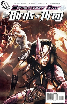 EN - Birds of Prey (2010 2nd Series) #05
