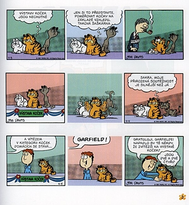 Garfield v plné parádě