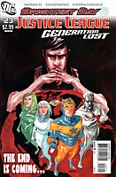 EN - Justice League: Generation Lost (2010) #23A