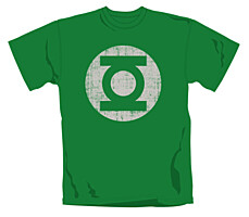 Green Lantern - Tričko Distress Logo