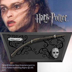 Harry Potter - Hůlka Bellatrix Lestrangové, replika (NN7976)