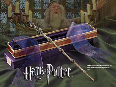 Kouzelnická hůlka - Albus Brumbál (Albus Dumbledore), Ollivanders Box (NN7145)