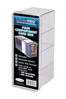 Krabička na karty - Ultra PRO plastová, čtyřdílná - 240 karet (81163)