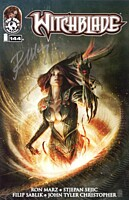 EN - Witchblade (1995) #144B Signed Ron Marz