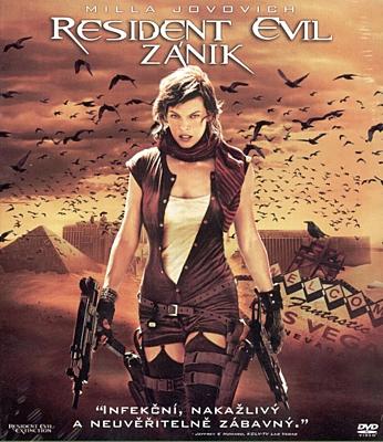 DVD - Resident Evil 3: Zánik