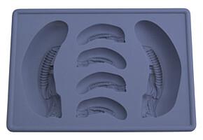 Alien - Silikonová formička na led - Big Chap