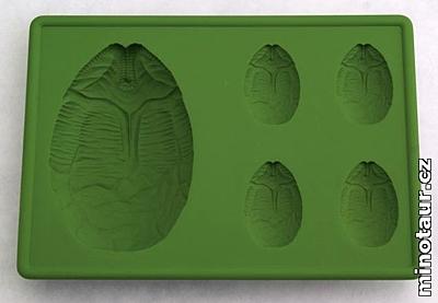 Alien - Silikonová formička na led - Egg Pod