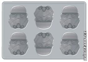 Star Wars - Silikonová formička na led - Stormtrooper