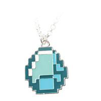 Minecraft - náhrdelník Diamond