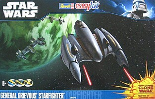 Star Wars EasyKit: General Grievous Starfighter (06671)