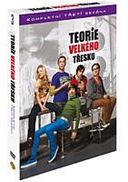 DVD - Teorie velkého třesku - 3. série (3 DVD)