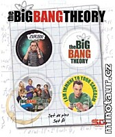 Big Bang Theory - Placky 4ks Set A