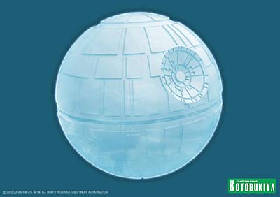 Star Wars - Silikonová formička na led - Death Star (Hvězda smrti)