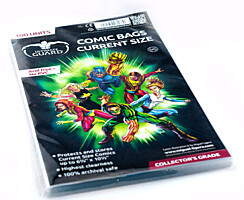 "Comic Bags - Current Size (6 7/8""x10 1/2"") (100ks) Ultimate Guard"