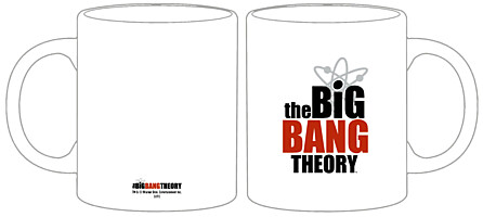 Big Bang Theory - Hrnek Logo (27475)