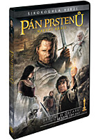 DVD - Pán prstenů 3: Návrat krále