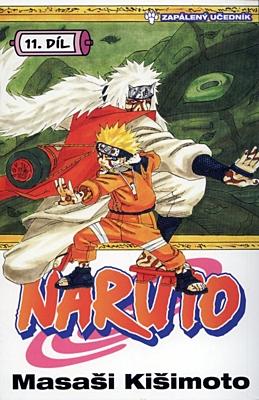 Naruto 11: Zapálený učedník
