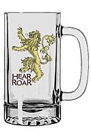 Game of Thrones - Pivní sklenice Lannister