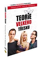 DVD - Teorie velkého třesku - 1. série (3 DVD)