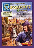 Carcassonne - 6. rozšíření: Král, hrabě a řeka