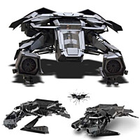 Batman - Dark Knight Rises - Bat Plane Diecast Model