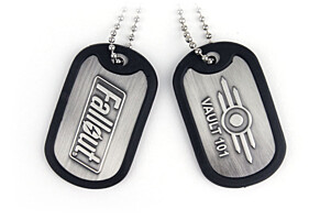Fallout - Dog Tags VAULT-TEC