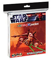 Star Wars EasyKit Pocket: Republic Gunship (06729)