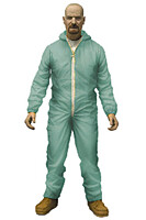 Breaking Bad - Walter White in Blue Hazmat Suit Action Figure 15cm
