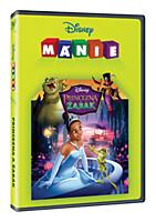 DVD - Princezna a žabák (edice Disney mánie)