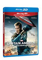 BD - Captain America: Návrat prvního Avengera (Blu-ray 3D + 2D)