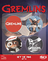 Gremlins - placky 4ks set B